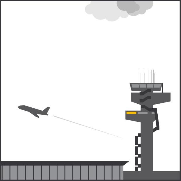 timeline - gavetta in aeroporto
