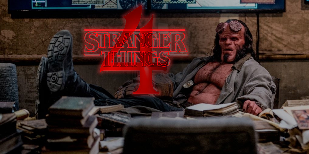 hellboy by david hoarbour in stranger things 4